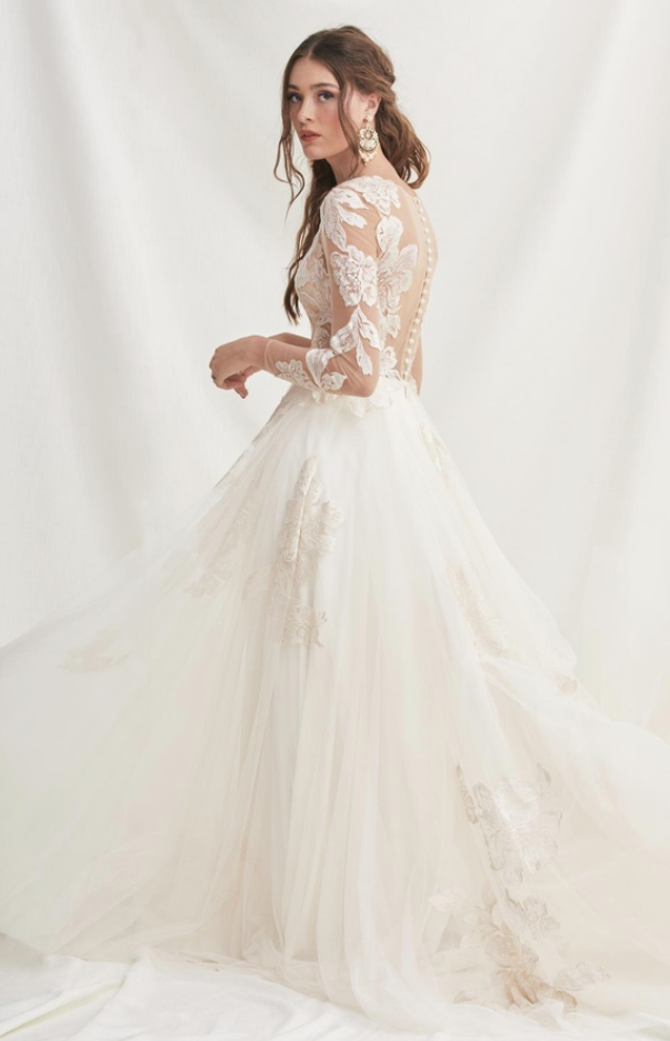 willowby by watters rhapsody wedding dress at cicily bridal
