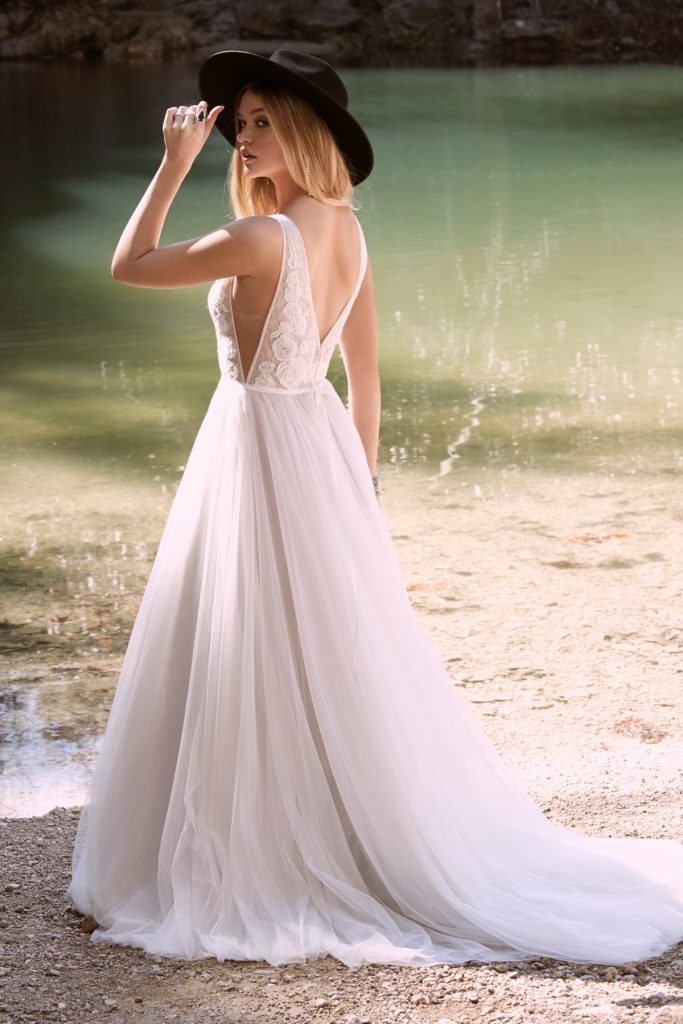 Spencer wedding dress by Willowby at Cicily Bridal