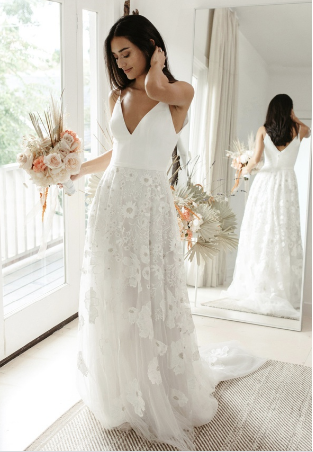 Tommie by Willowby by Watters at Cicily Bridal