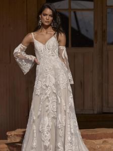 Evie Young Raven Wedding Dress at Cicily Bridal
