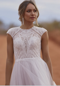Evie Young Echo Wedding Dress at Cicily Bridal