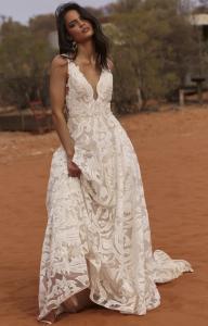 Evie Young Liberty Wedding Dress at Cicily Bridal