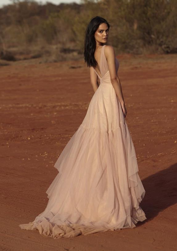 Evie Young Lark Wedding Dress at Cicily Bridal